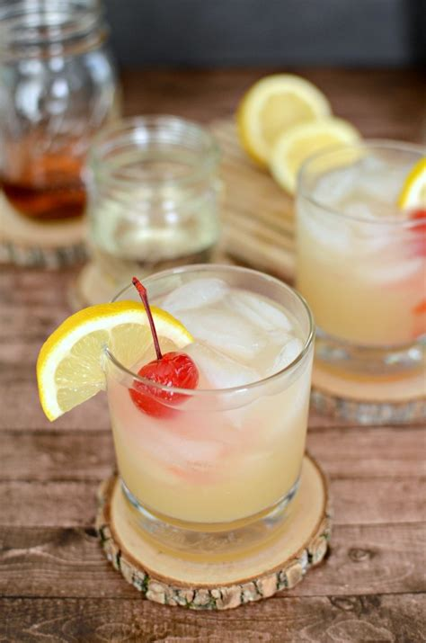 a classic whiskey sour cocktail simply darr ling