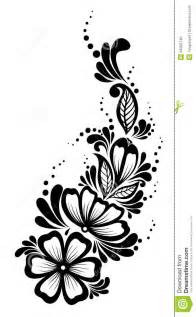Beautiful Black And White Designs Cool Black And White Flower Designs Www Galleryhip Com