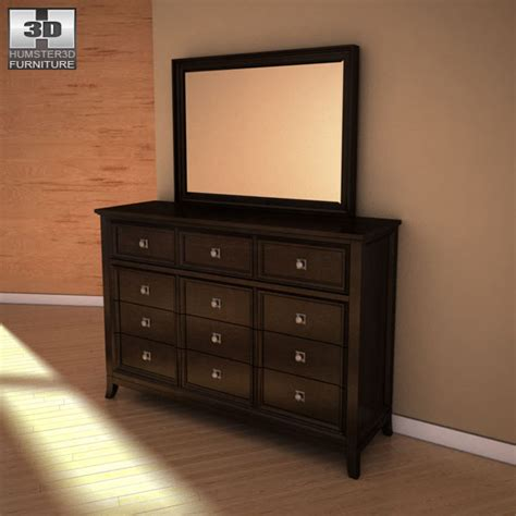 martini bedroom set ashley martini suite storage bedroom set 3d model humster3d