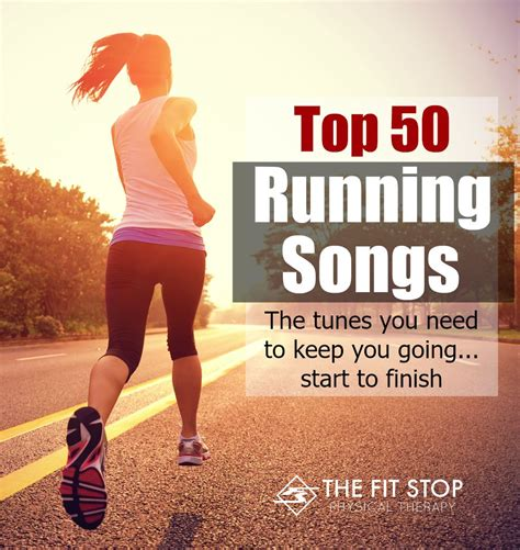 best songs for running running workout playlist fit stop physical therapy