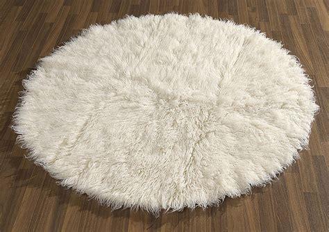 flokati teppich teppich janning flokati teppich rund