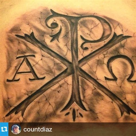 conquer tattoo 1000 ideas about chi rho on alpha and omega