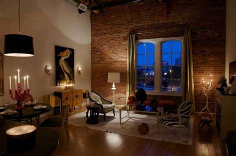 Living Room Ideas Exposed Brick Living Room With Exposed Brick Wall Design
