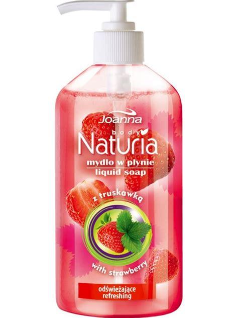 Soap Liquid Strawberry joanna naturia liquid soap strawberry beautycosmetic
