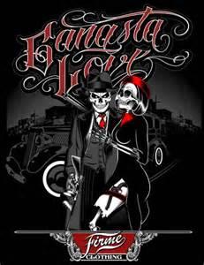 homies love gangsta love by firme clothing designed by