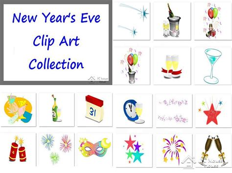 new year clip set new year s clip by cybernation on etsy