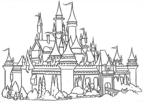 magic castle coloring page coloriage chateaux les beaux dessins de autres 224