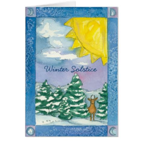 winter solstice greeting card templates winter solstice cards greeting photo cards zazzle