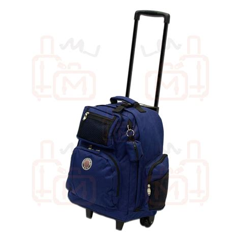 Backpack Like Suitcase 18 Inches by Transworld 1318 18 Inch Rolling Backpack