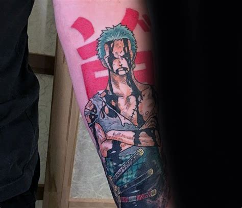 one piece forearm tattoo 70 one piece tattoo designs for men japanese anime ink ideas