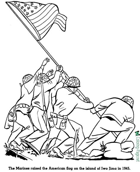 american history  kids coloring pages