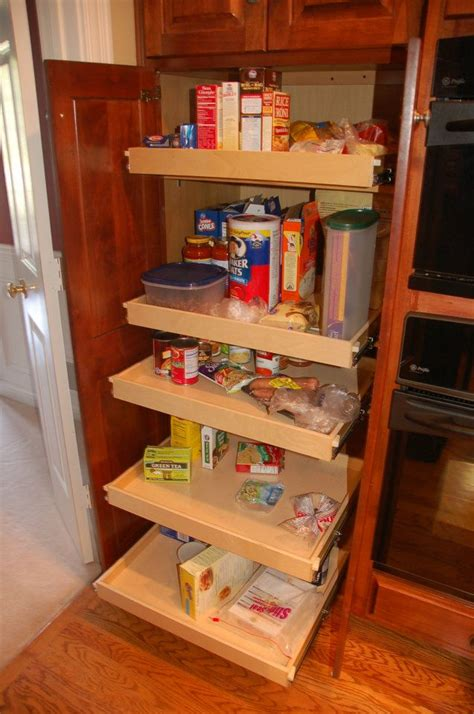 pull out shelves for kitchen cabinets kitchen pantry cabinet with pull out shelves home