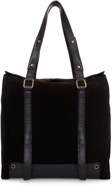 Tas Tote Bag Zra Ori zara combined leather and suede shopper where to buy how to