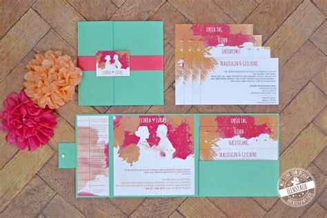 Hochzeitseinladung Kreativ by Pocketeinladung Hochzeitseinladung Feenstaub At