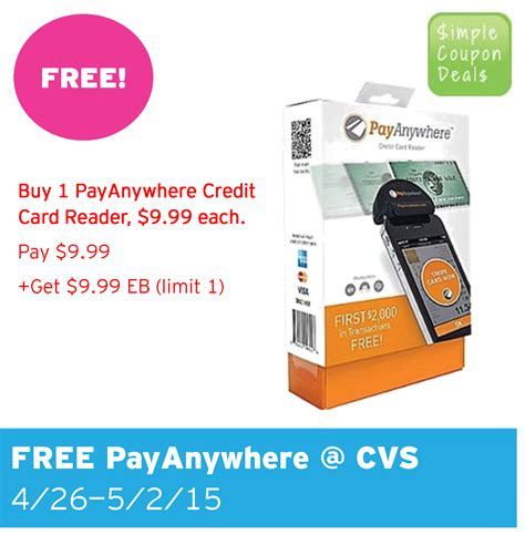 Cvs Visa Gift Card Limit - free payanywhere credit card reader cvs simple coupon deals