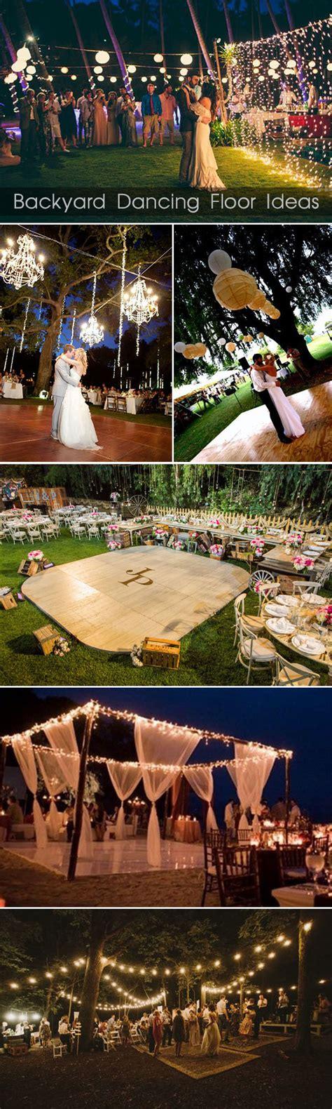 outdoor backyard wedding ideas 30 sweet ideas for intimate backyard outdoor weddings