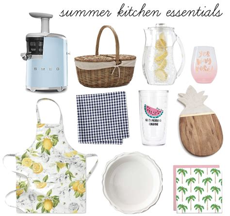 kitchen essential summer kitchen essentials