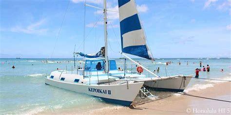 catamaran honolulu waikiki waikiki beach guide to waikiki s 9 beaches