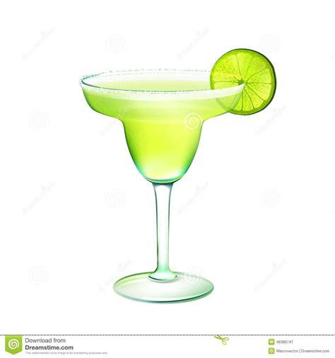 margarita illustration margarita cocktail stock vector image 46380747