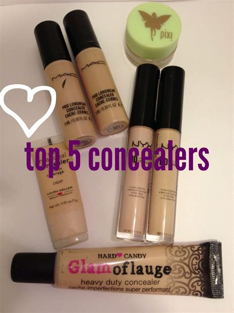 Makeup Concealer top 5 concealers daydreaming