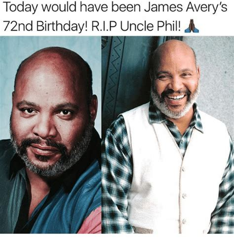 Uncle Phil Meme - today would have been james avery s 72nd birthday rip