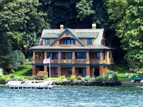 Lake House House Plans by Lake House Luxury Home Designs Lake House Unique