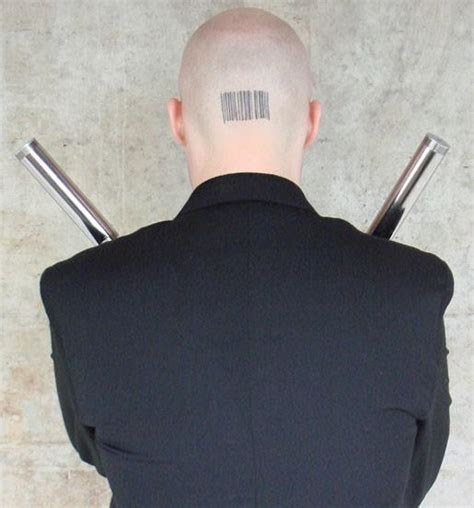 barcode tattoo on head all ink d up tenime art panels on pages
