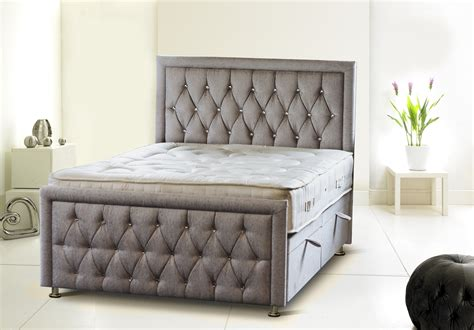 headboards with storage uk uk made rozzini chesterfield diamond ottoman storage bed