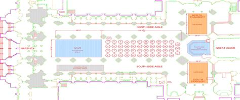 national cathedral floor plan event spaces washington national cathedral