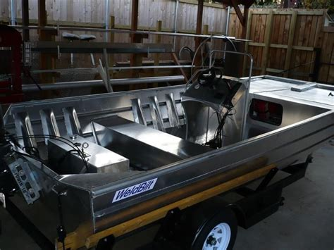 flat bottom boat build diy custom built boat and trailer hunting and fishing