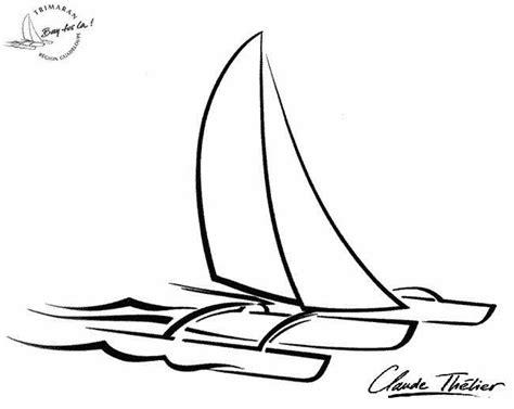 dessin bateau route du rhum acad 233 mie de la guadeloupe
