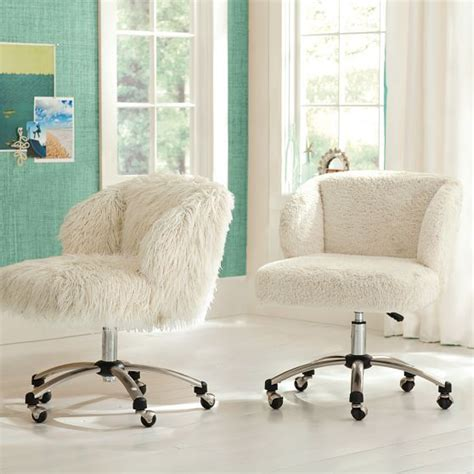 ivory furlicious wingback desk chair desk chairs desks