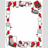 Free Sports Borders Clip Art Page Borders And Vector Graphics