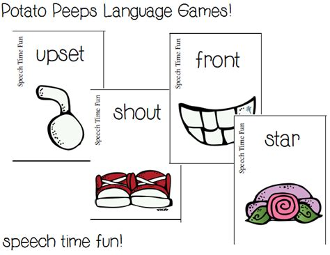 Synonym For Potato potato peeps language 5 in 1 plus a giveaway