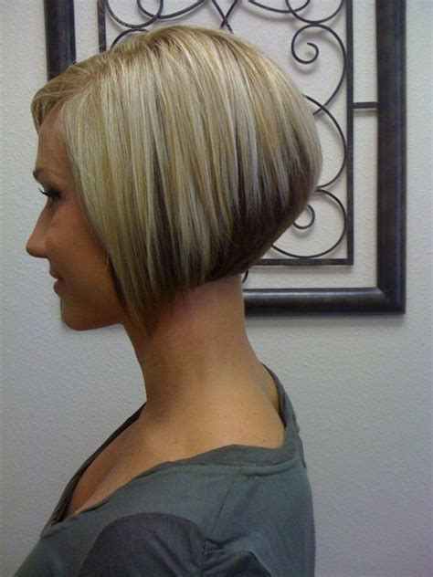 angled stacked bob back view www pixshark com images 25 best ideas about short angled bobs on pinterest
