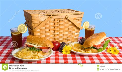 picnic lunch stock photo image 5228760