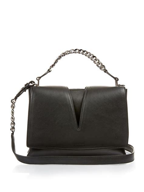 Jil Sander 2007 Bags by Jil Sander View Small Leather Cross Bag In Black Lyst