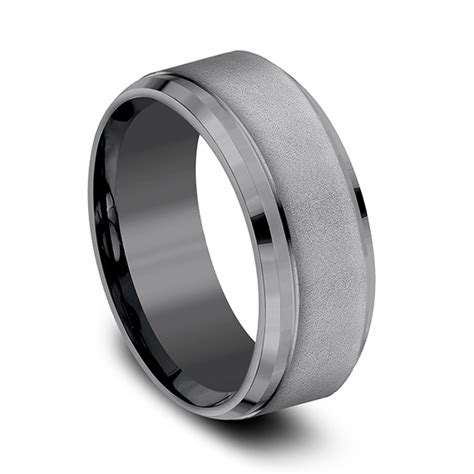 Wedding Bands Ta by Tantalum Comfort Fit Design Ring Cf69486 Wedding Bands