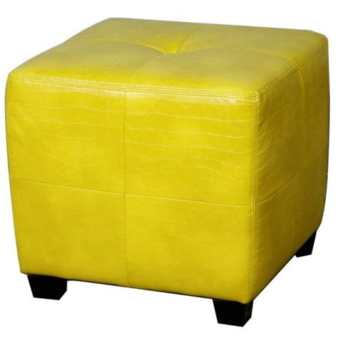 yellow storage cube ottoman best 25 yellow ottoman ideas only on yellow
