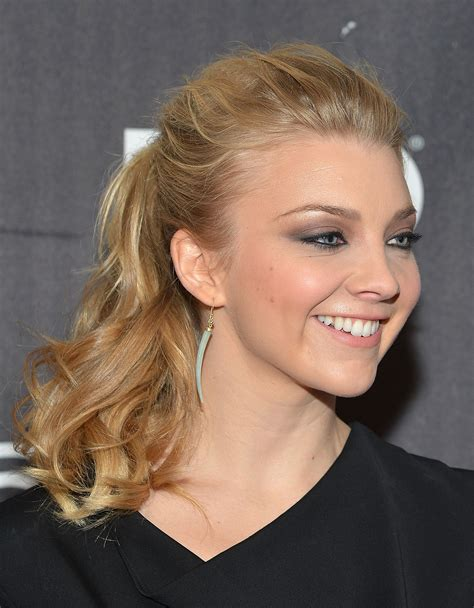 Natalie Dormer Hair To Give Your Hair Texture At The Roots Like Natalie Dormer