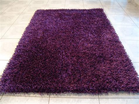 teppiche violett calypso pflaume teppich hochflor teppich bei tepgo kaufen