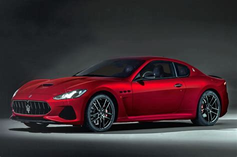 maserati granturismo receives a facelift for 2018 evo