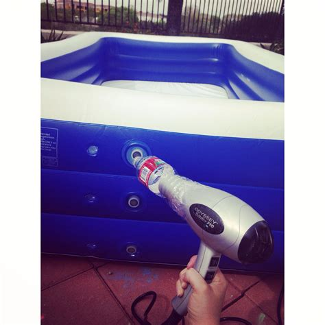 Hair Dryer Cool how to up a pool without an electric set a