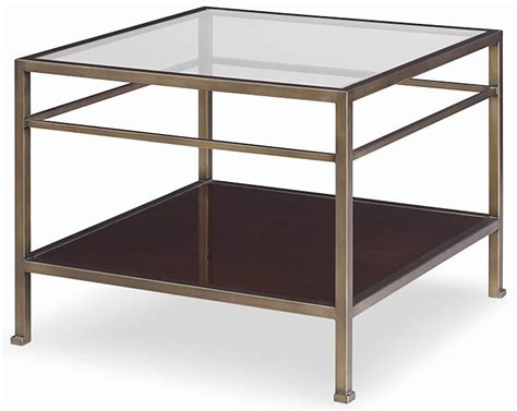 square accent tables hawkins square end table brown luxe home company