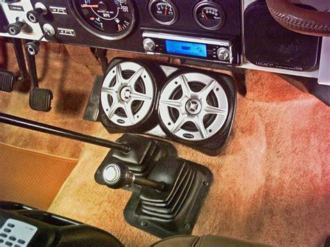 Jeep Yj Speakers Cj7 Stereo Sound System