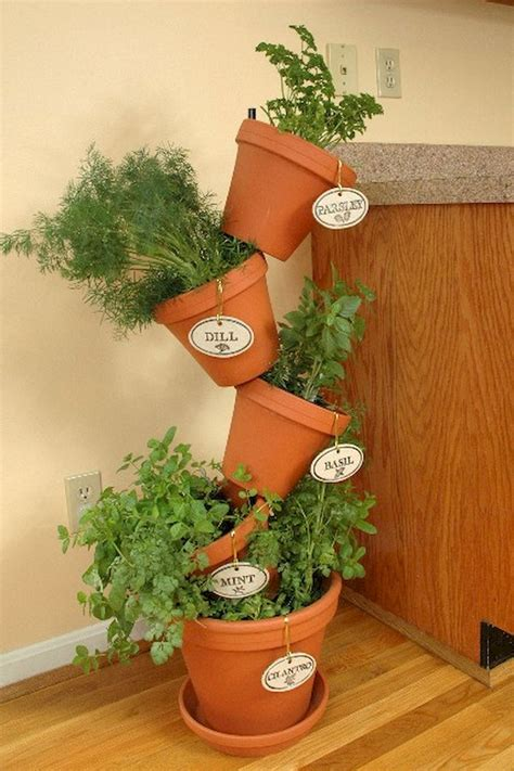 Potted Herb Garden Ideas Adorable Diy Container Herb Garden Design Ideas 20