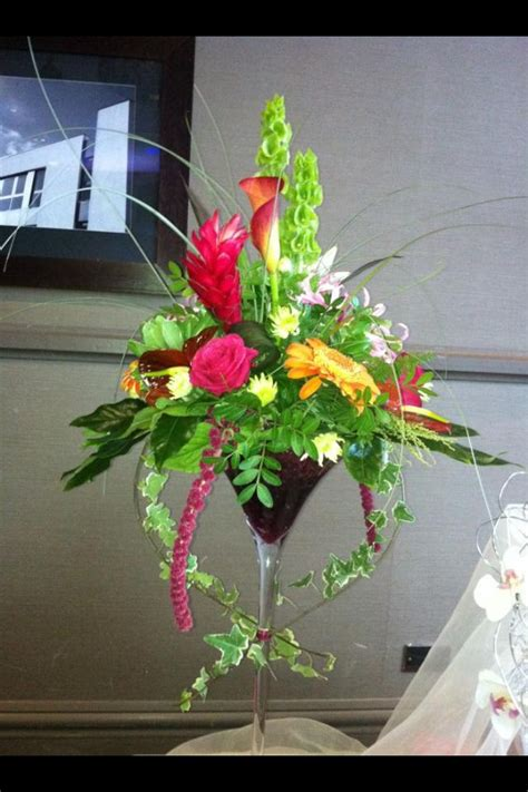 martini tropical 17 best images about martini centerpieces on