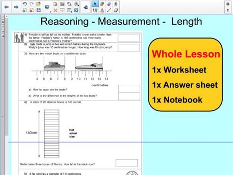 esl resources new february 2016 part 5 lesson whole lesson reasoning length measurement conversion