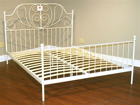 white metal queen bed frame bed white metal bed frame queen home interior design