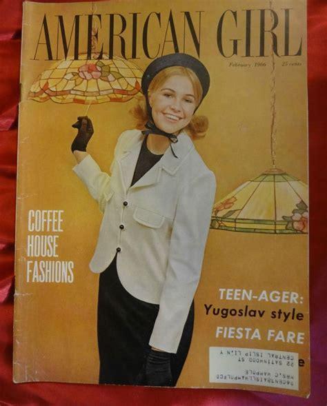 school teenage girls vintage magazine 27 best the american girl images on pinterest girls